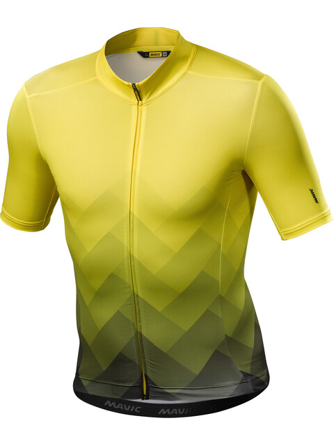 Mavic Cosmic Graphic Jersey Men Yellow Mavic